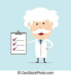 Professor show checklist
