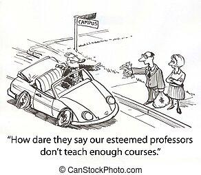 Professor sports car