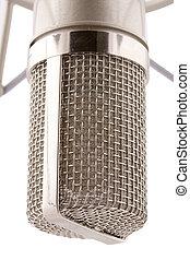 proffecional, studio, microfoon