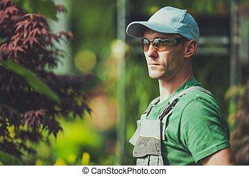 profi, kertész, portré