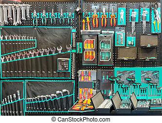 profi, műhely, eszközök, felszerelés, különleges