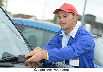 profi, takarítás, autó