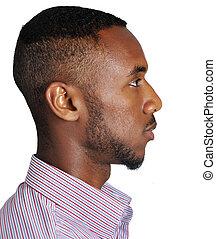 profil, adolescent, adolescent, african-american