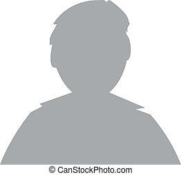 profil, bild, mann, avatar