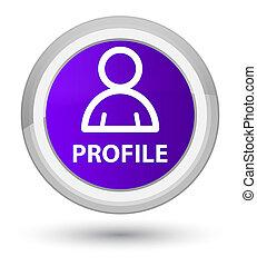 profil, blütezeit, lila, taste, icon), (member, runder