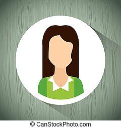 profil, design, benutzer