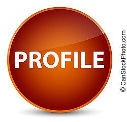 profil, elegant, taste, runder , brauner