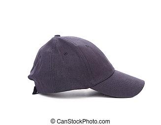 profil, o, pracovní, peaked, cap.
