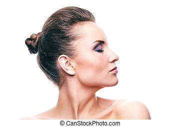 profil, piękno