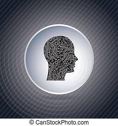 profil, stromkreis