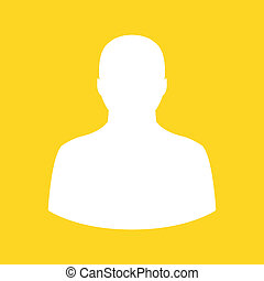 profil, vektor, ikone