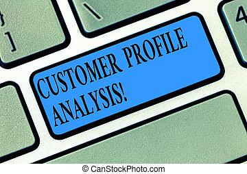 profil, zákazník, pojem, vzkaz, povolání, dálkový ovladač, text, stvořit, analýza, dílo, idea., intention, naléhavý, analysis., klapka, klaviatura, poselství, počítač, nebo, obchod, plán