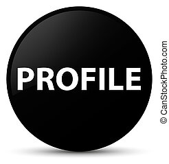 Profile black round button