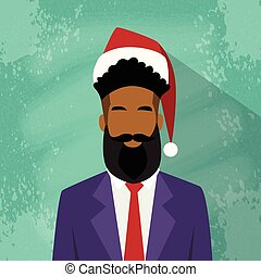 Profile Icon Businessman African American Race Male New Year...
