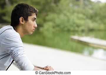 Teenage Indian Boy
