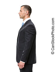 Profile of business man