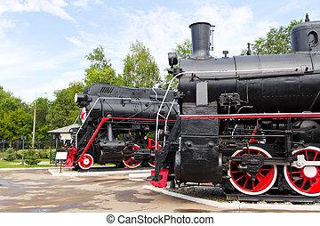 Profile of rail road locomotives