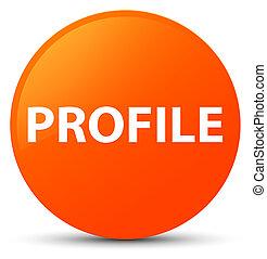 Profile orange round button