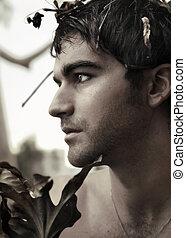 Profile photo os a young noble man
