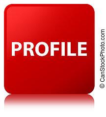 Profile red square button