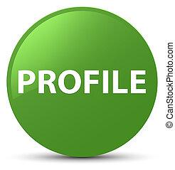 Profile soft green round button
