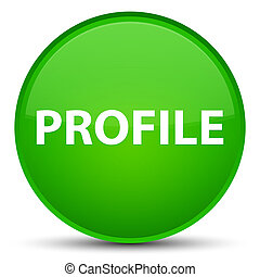Profile special green round button