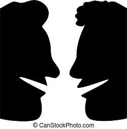 profilo, chiacchierata