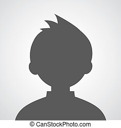 profilo, immagine, avatar, uomo