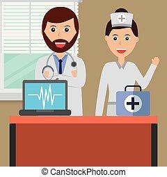 profissão médica, pessoas