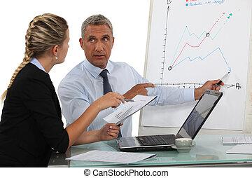 profissionais, previsions, negócio, fazer