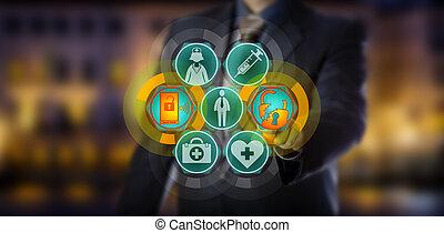 profissional, cometer, cuidado saúde, dados, rompimento