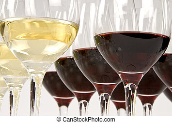 profissional, degustação vinho