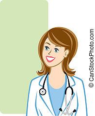 profissional, médico