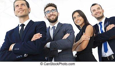 profissional, pessoas., equipe negócio