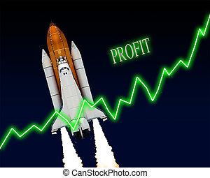 Profit Business Chart