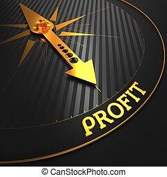 Profit. Business Concept.