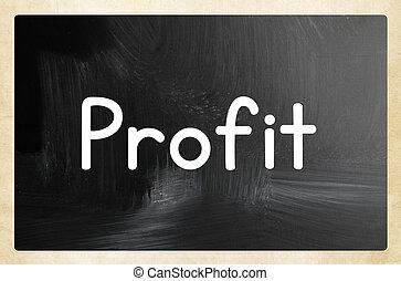 profit, concept