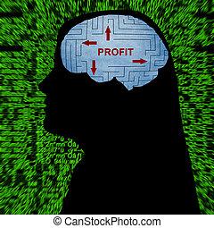 Profit in maze concept