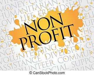 profit, non, mot, nuage