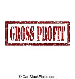 profit-stamp, bruto