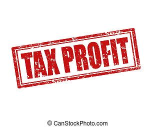 profit-stamp, imposto
