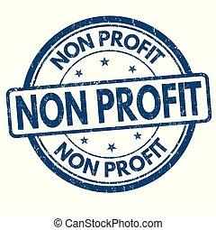 profit, timbre, grunge, non, caoutchouc