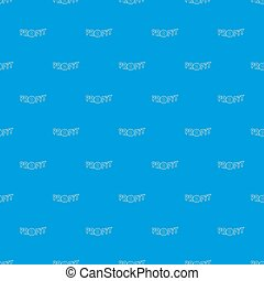 Profit word with a dollar sign pattern seamless blue