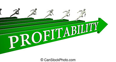 Profitability Opportunities as a Business Concept Art