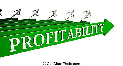 Profitability Opportunities as a Business Concept Art
