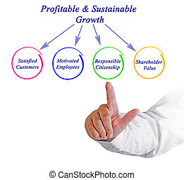 profitable&sustainable, 成長