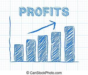Profits Up Graph Paper