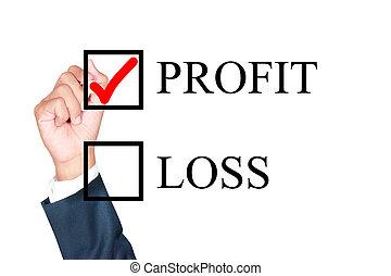 profitto, cosa, scegliere