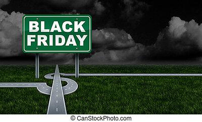 profitto, nero, venerdì, promuovere