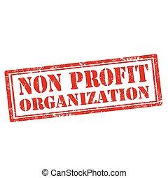 profitto, organizzazione, non